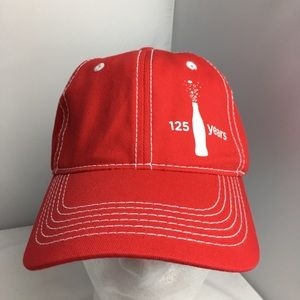 Other - Coca Cola COKE Hat NWOT Cap Adjustable Red White